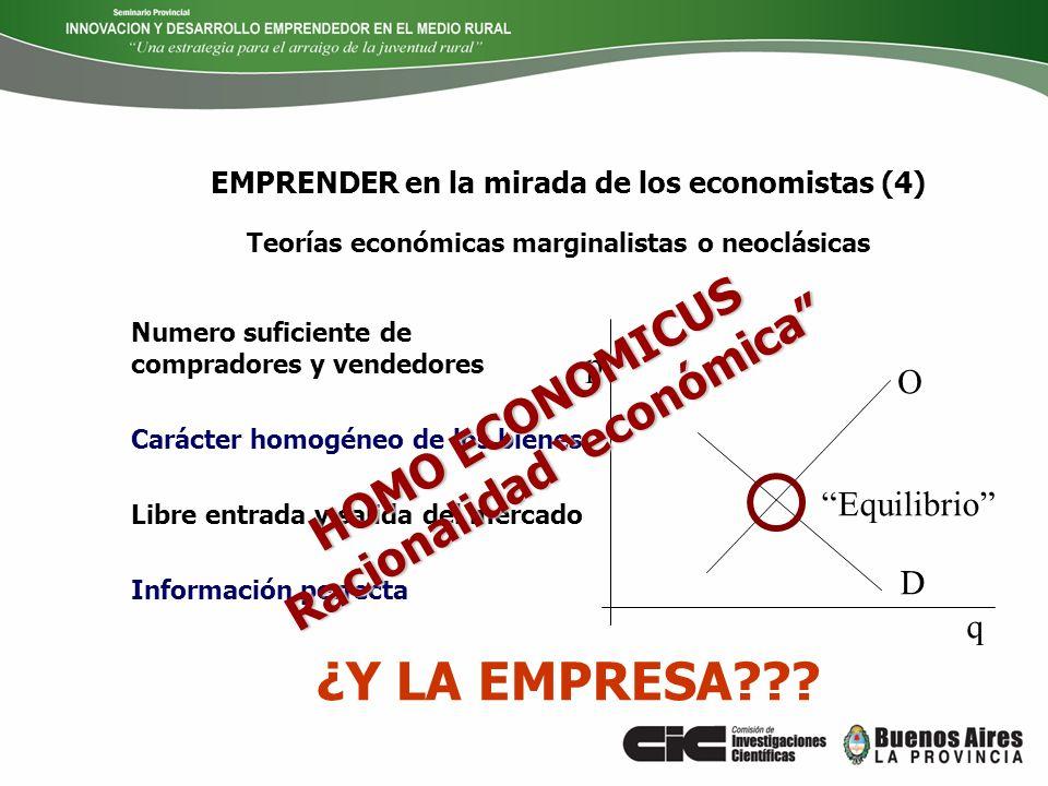 EMPRENDER en la mirada de los economistas (4)