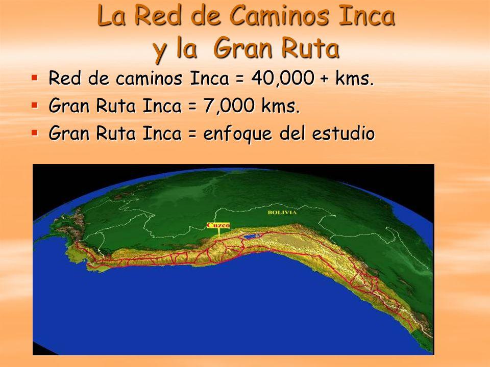 La Red de Caminos Inca y la Gran Ruta