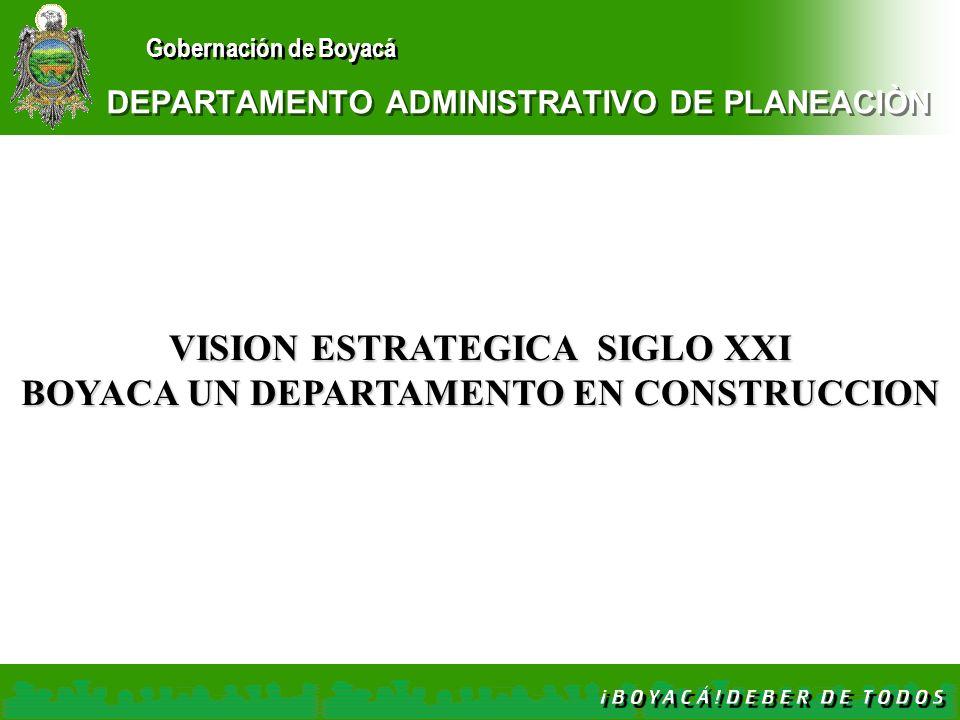 DEPARTAMENTO ADMINISTRATIVO DE PLANEACIÒN