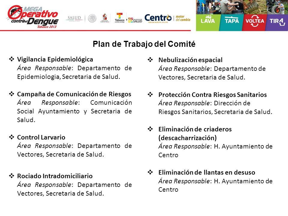 Plan de Trabajo del Comité