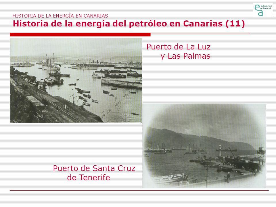 Puerto de La Luz y Las Palmas