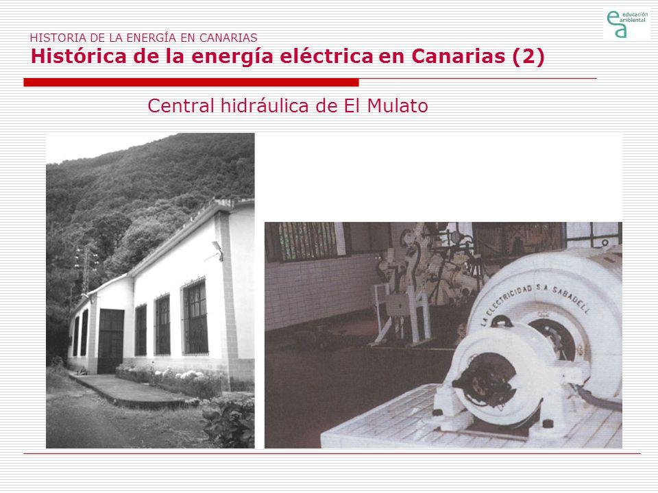 Central hidráulica de El Mulato