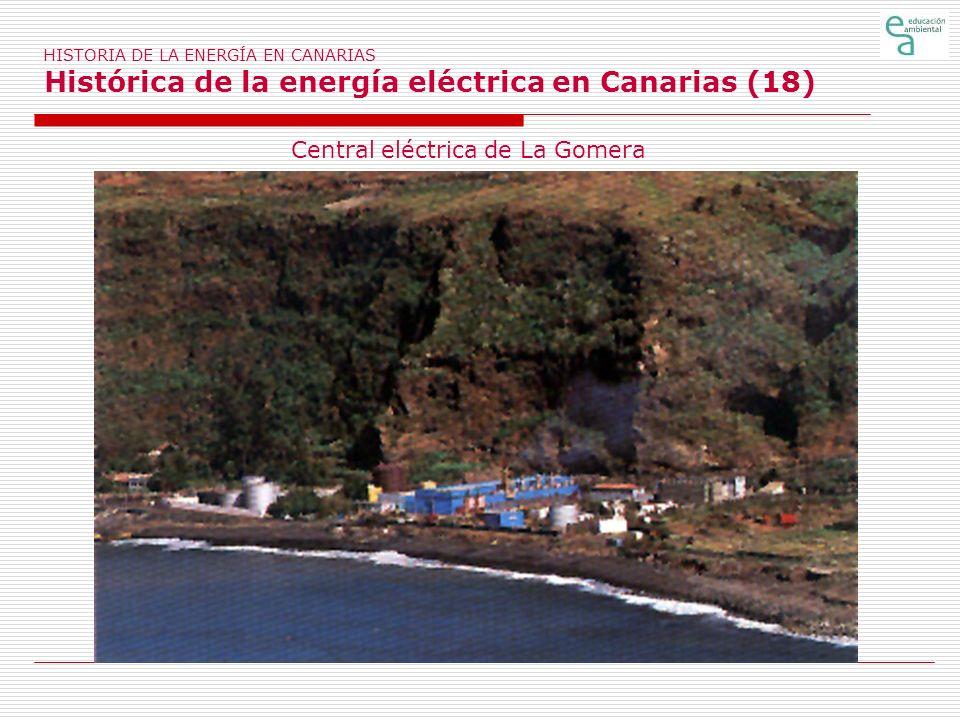 Central eléctrica de La Gomera