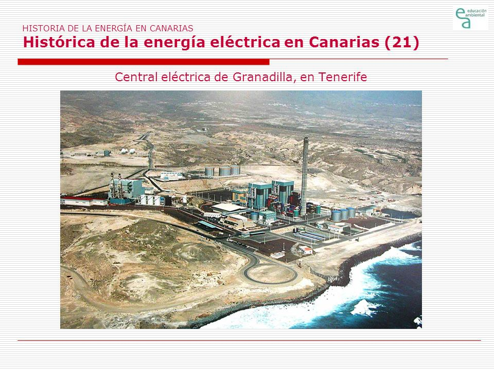 Central eléctrica de Granadilla, en Tenerife