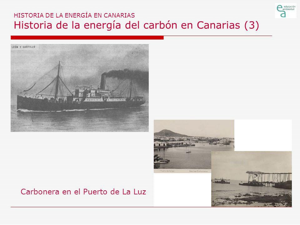 Carbonera en el Puerto de La Luz
