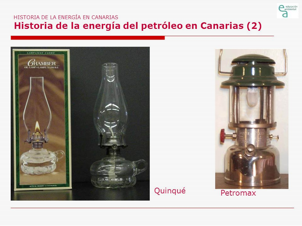 HISTORIA DE LA ENERGÍA EN CANARIAS Historia de la energía del petróleo en Canarias (2)