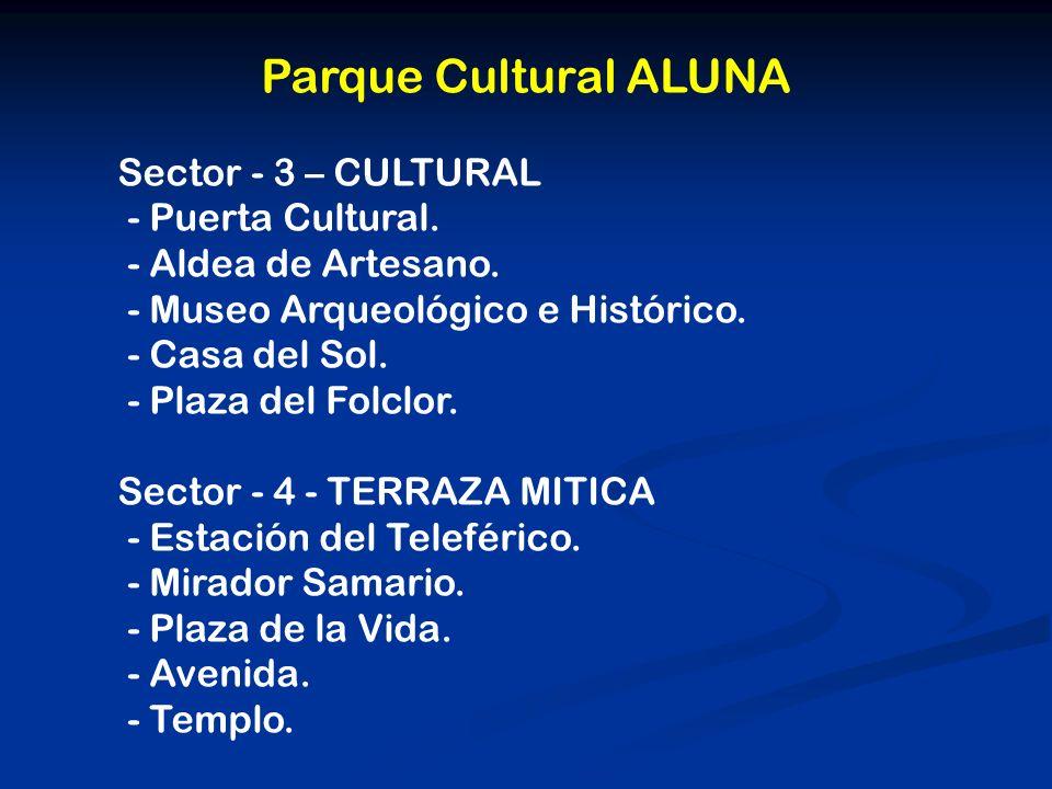 Parque Cultural ALUNA Sector - 3 – CULTURAL - Puerta Cultural.