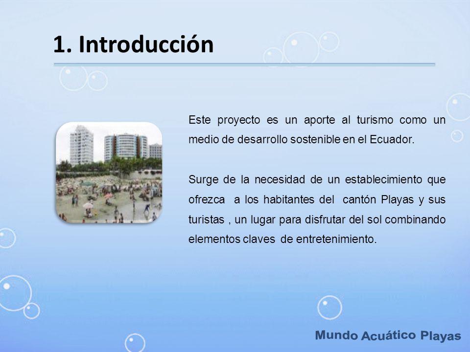 Mundo Acuático Playas 1. Introducción