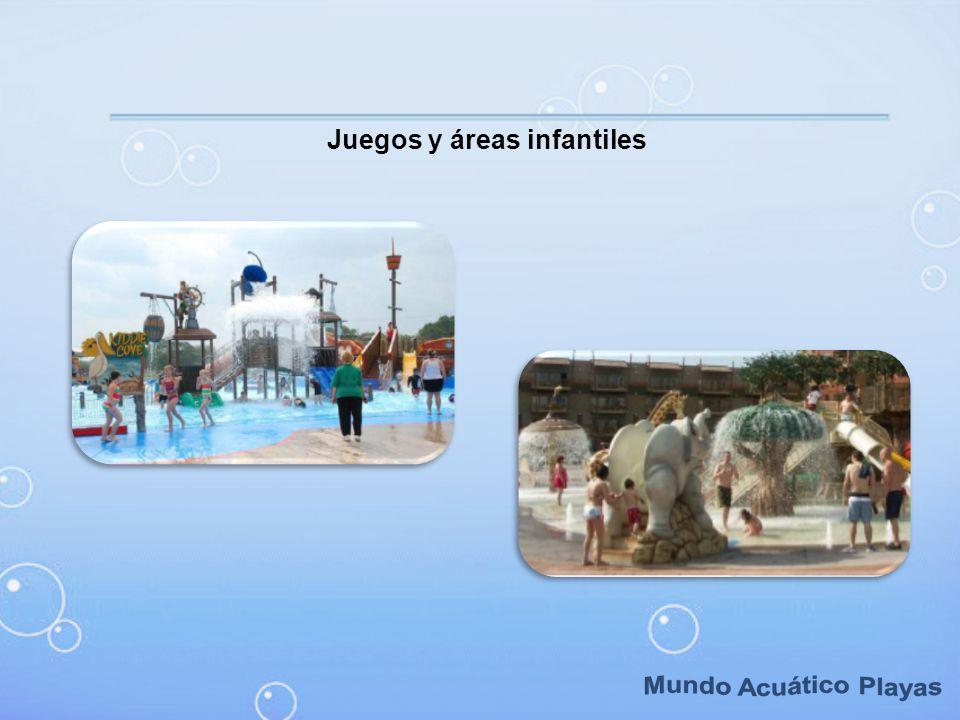 Juegos y áreas infantiles