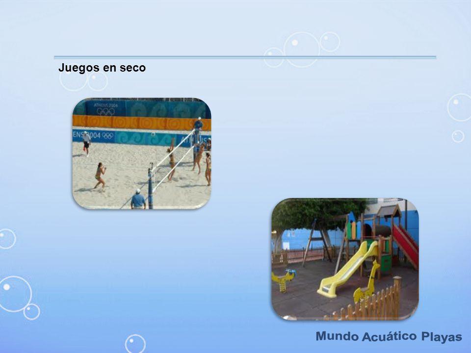 Juegos en seco Mundo Acuático Playas