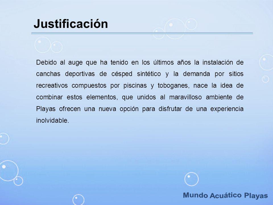 Mundo Acuático Playas Justificación