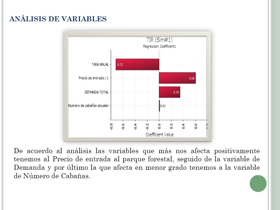 ANÁLISIS DE VARIABLES