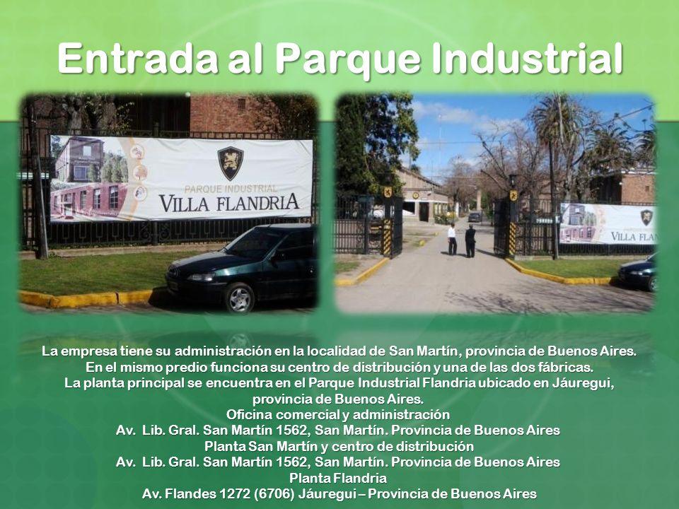 Entrada al Parque Industrial