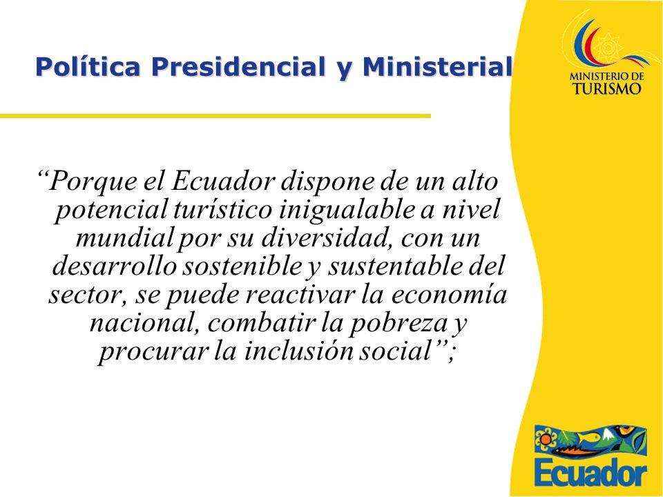 Política Presidencial y Ministerial