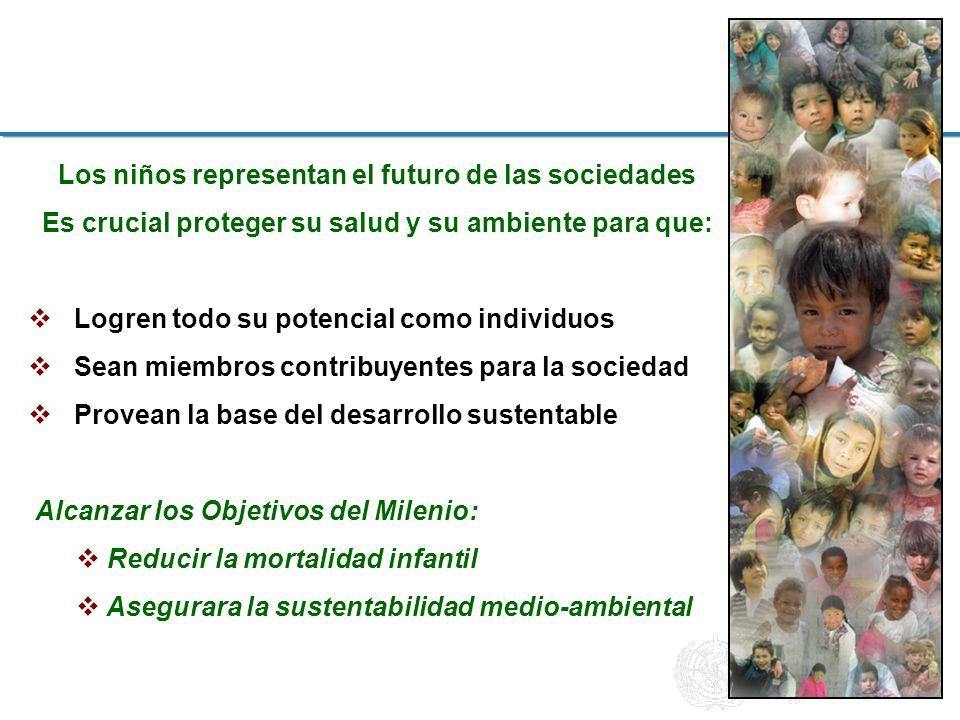 Los niños representan el futuro de las sociedades