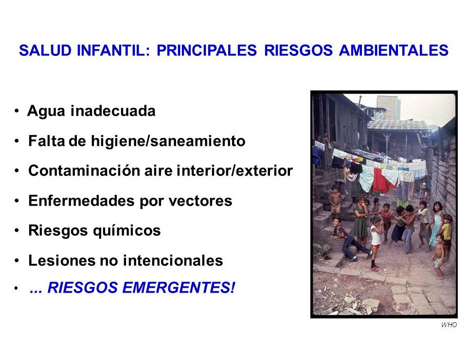 SALUD INFANTIL: PRINCIPALES RIESGOS AMBIENTALES