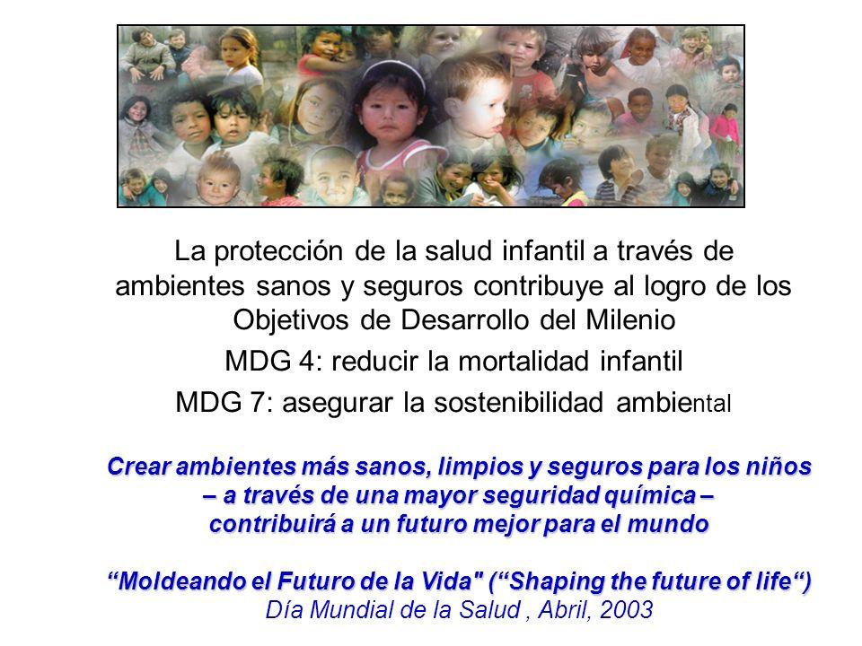MDG 4: reducir la mortalidad infantil