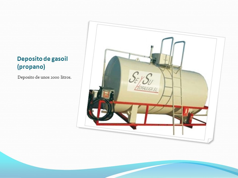 Deposito de gasoil (propano)