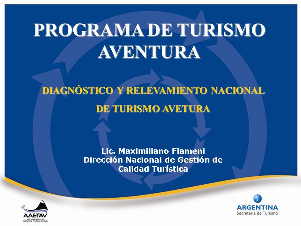 PROGRAMA DE TURISMO AVENTURA