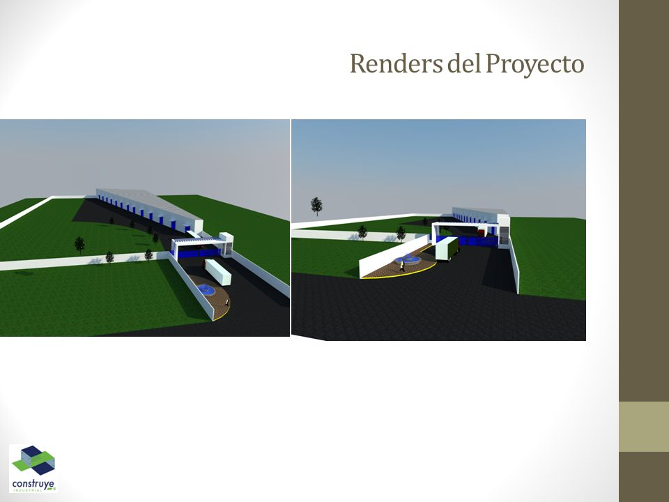 Renders del Proyecto