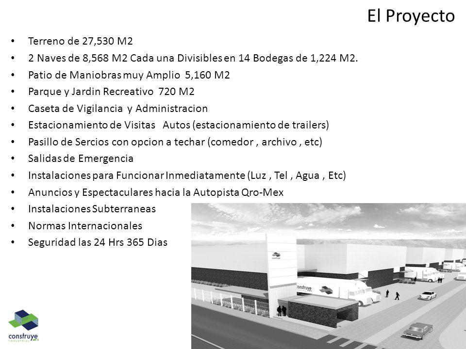 El Proyecto Terreno de 27,530 M2