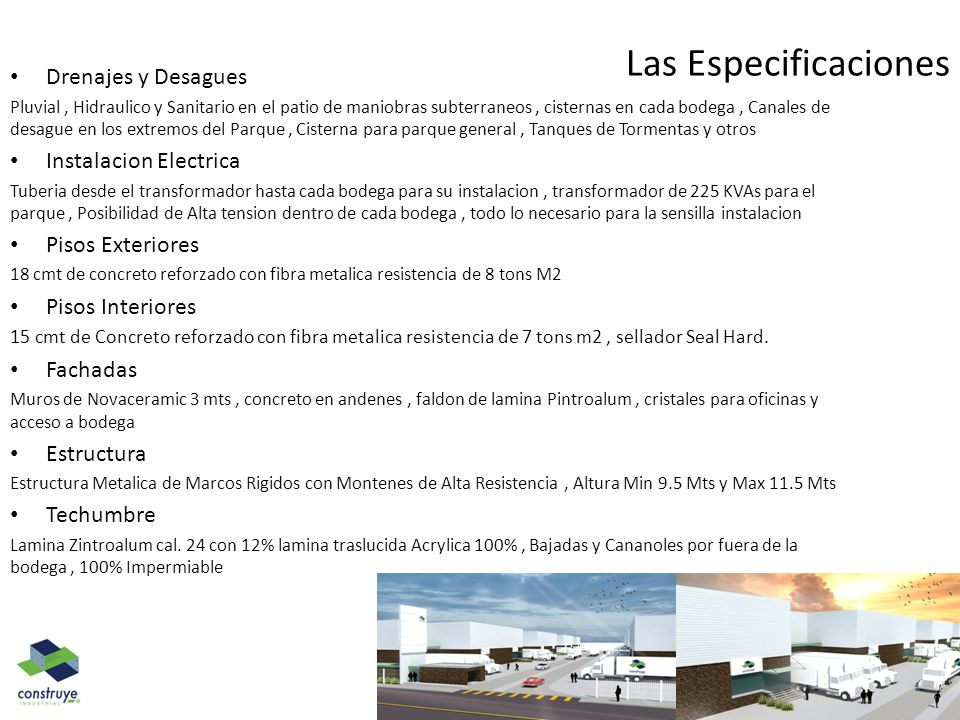 Las Especificaciones Drenajes y Desagues Instalacion Electrica