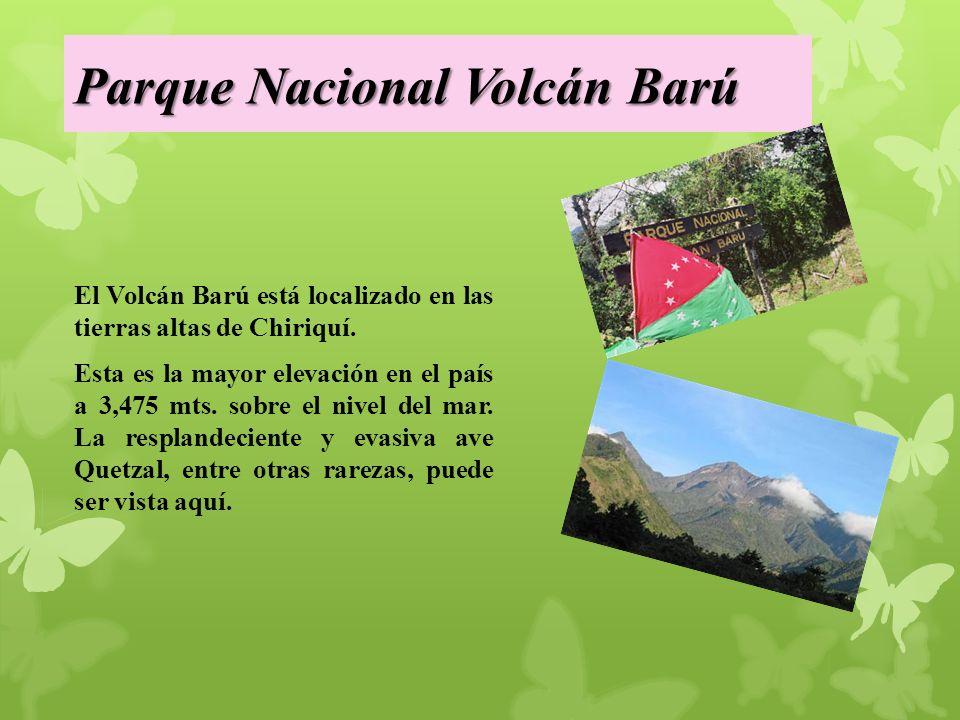 Parque Nacional Volcán Barú