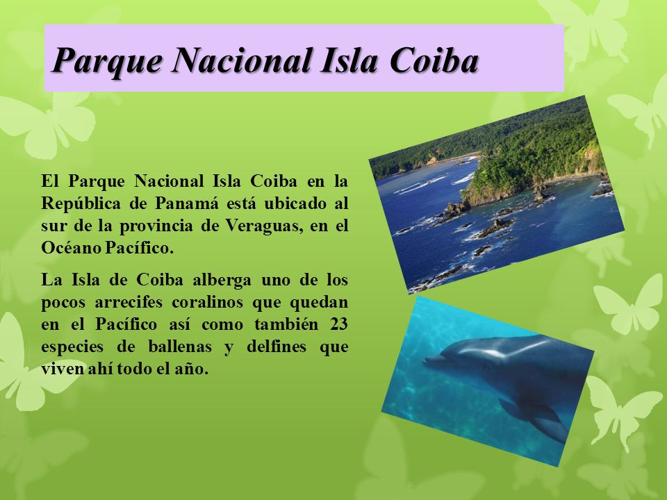 Parque Nacional Isla Coiba