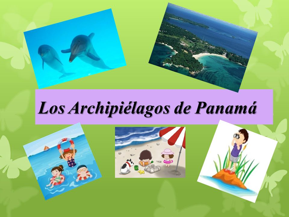 Los Archipiélagos de Panamá