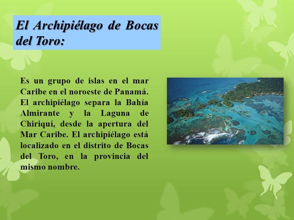 El Archipiélago de Bocas del Toro: