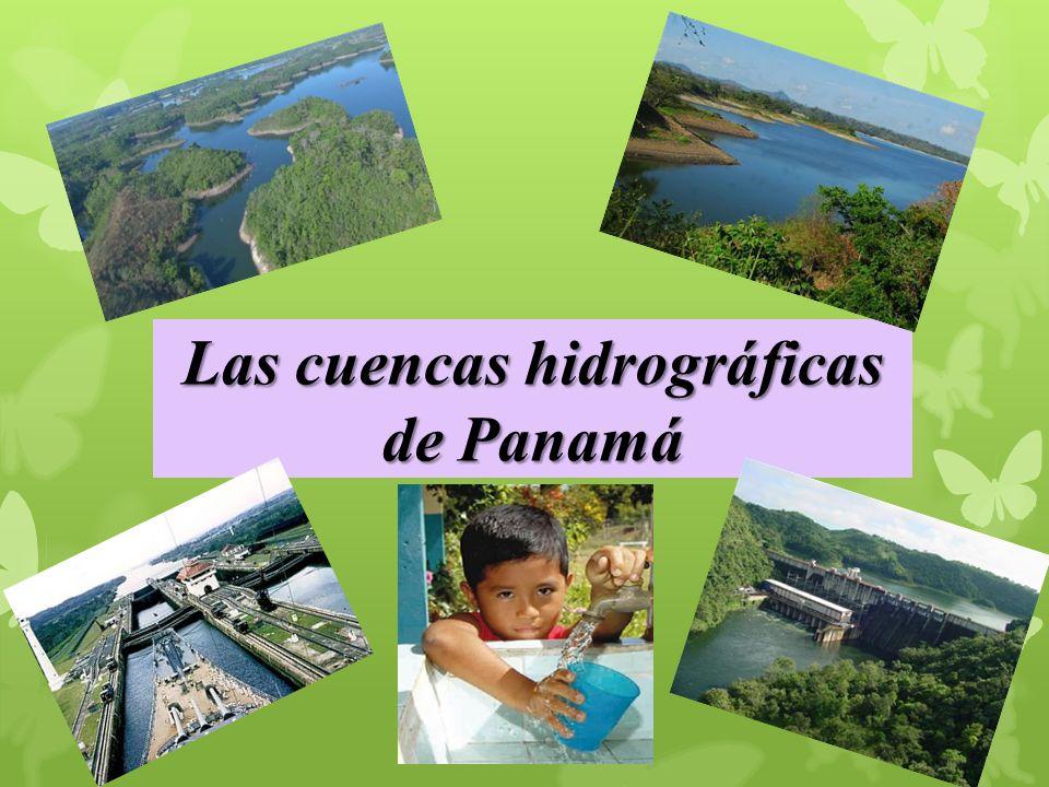 Las cuencas hidrográficas de Panamá