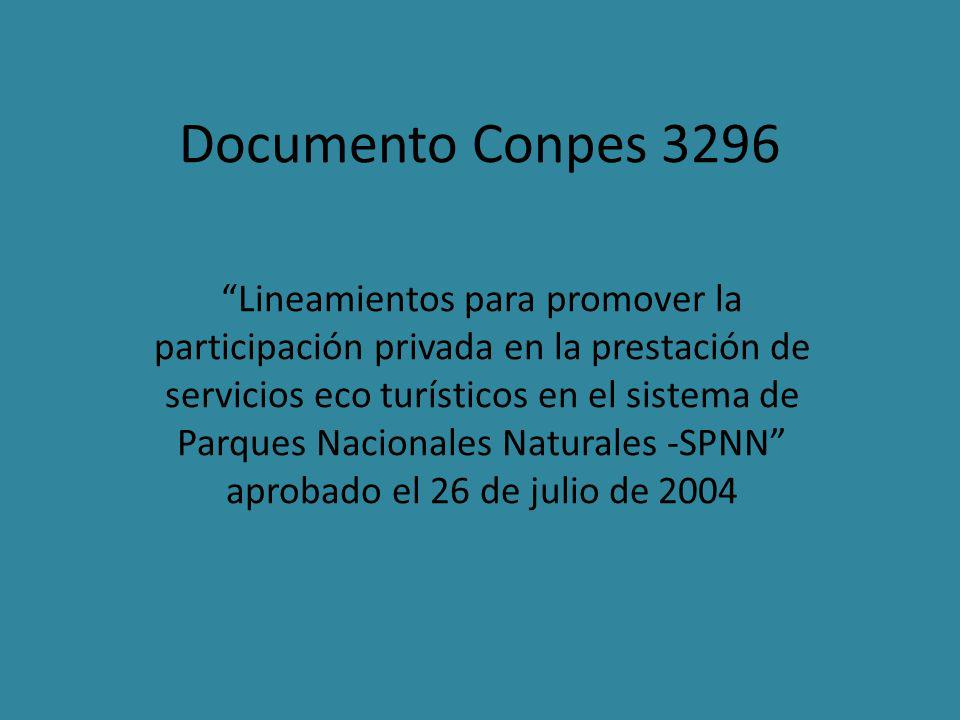 Documento Conpes 3296