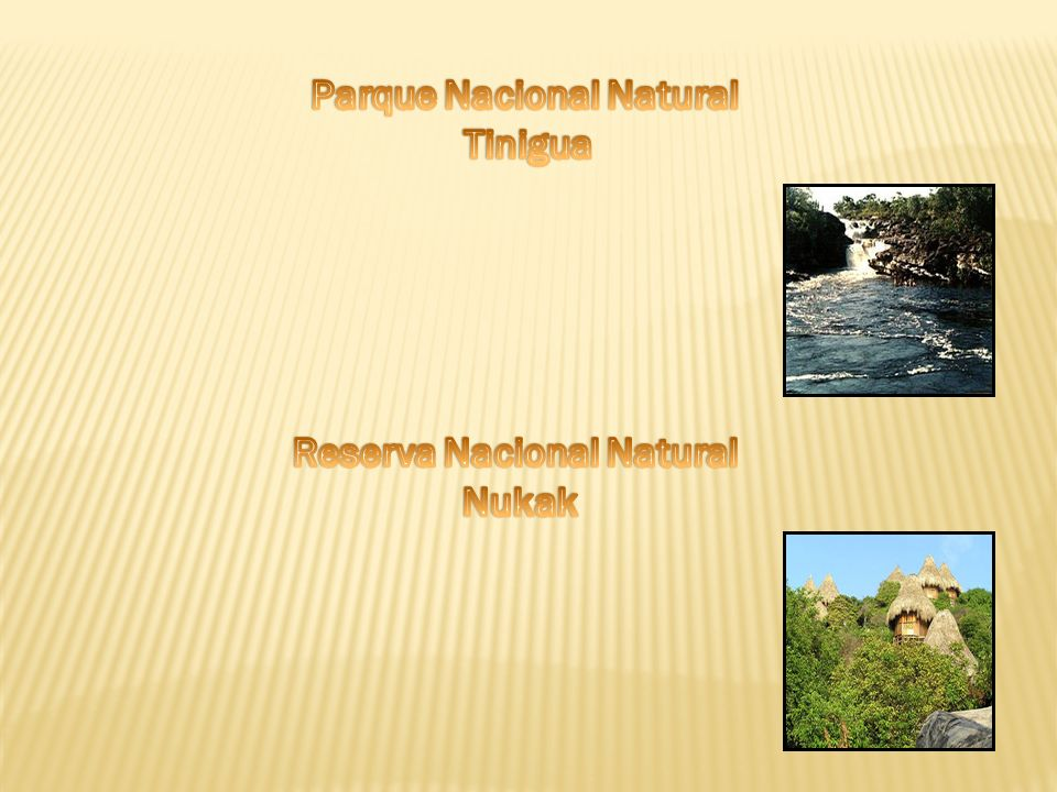 Parque Nacional Natural Reserva Nacional Natural