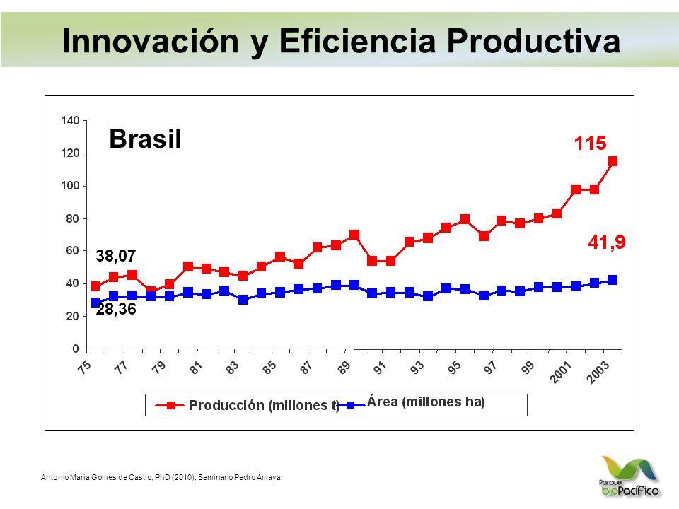 Innovación y Eficiencia Productiva