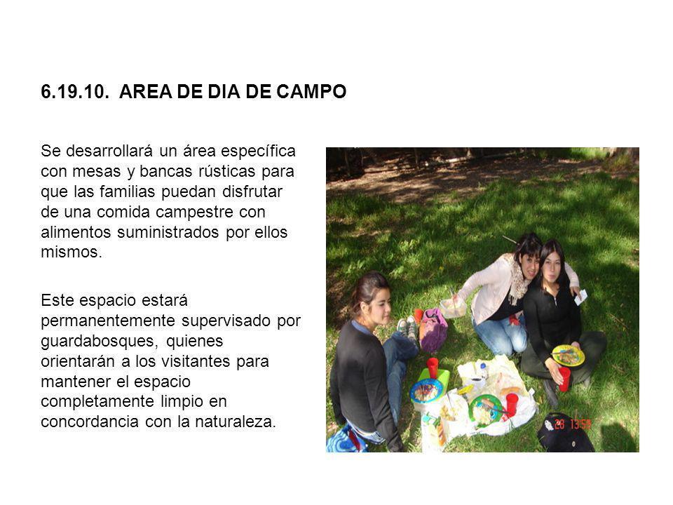 6.19.10. AREA DE DIA DE CAMPO