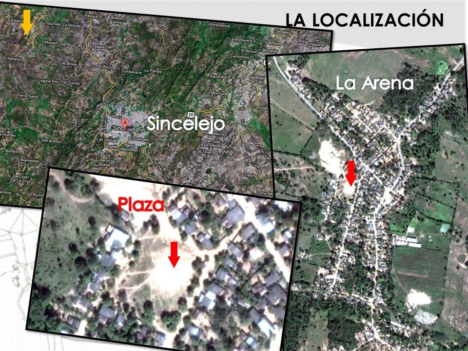 LA LOCALIZACIÓN La Arena Sincelejo Plaza Sucre