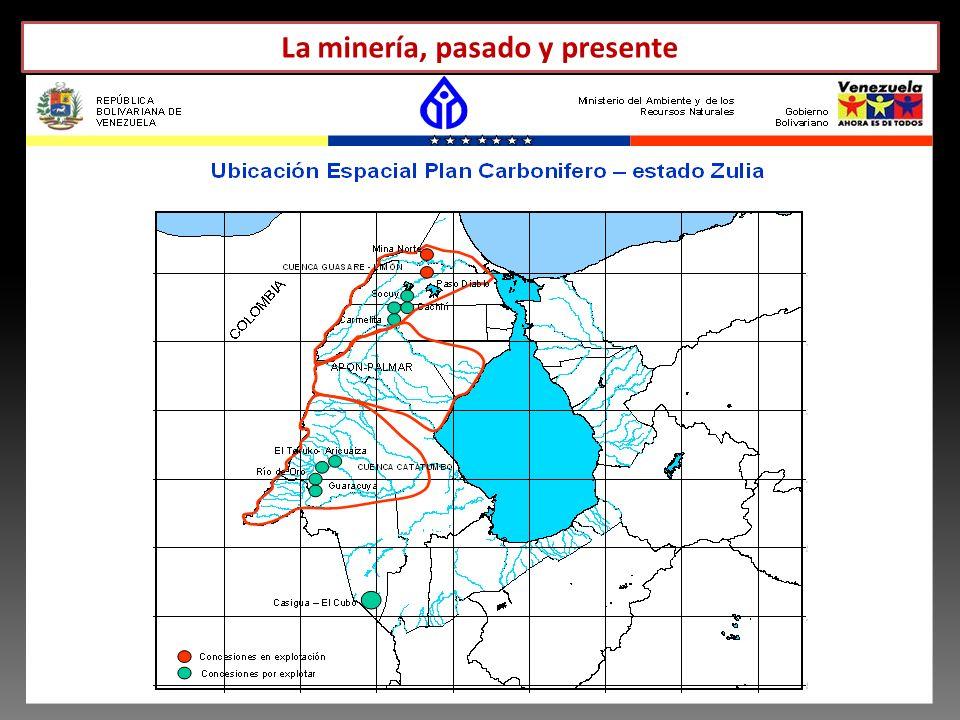 La minería, pasado y presente