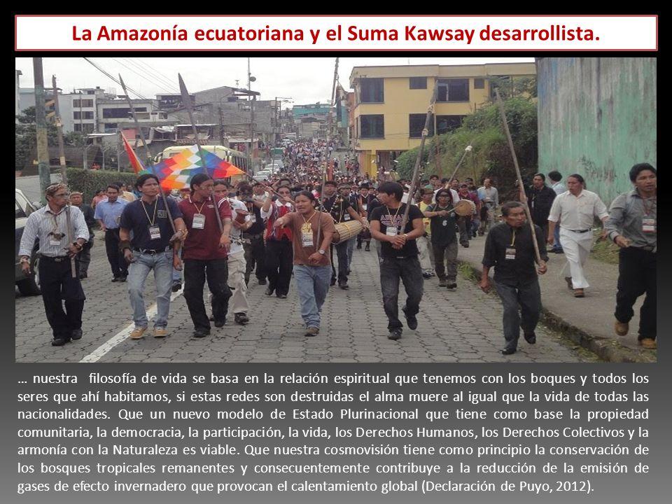 La Amazonía ecuatoriana y el Suma Kawsay desarrollista.