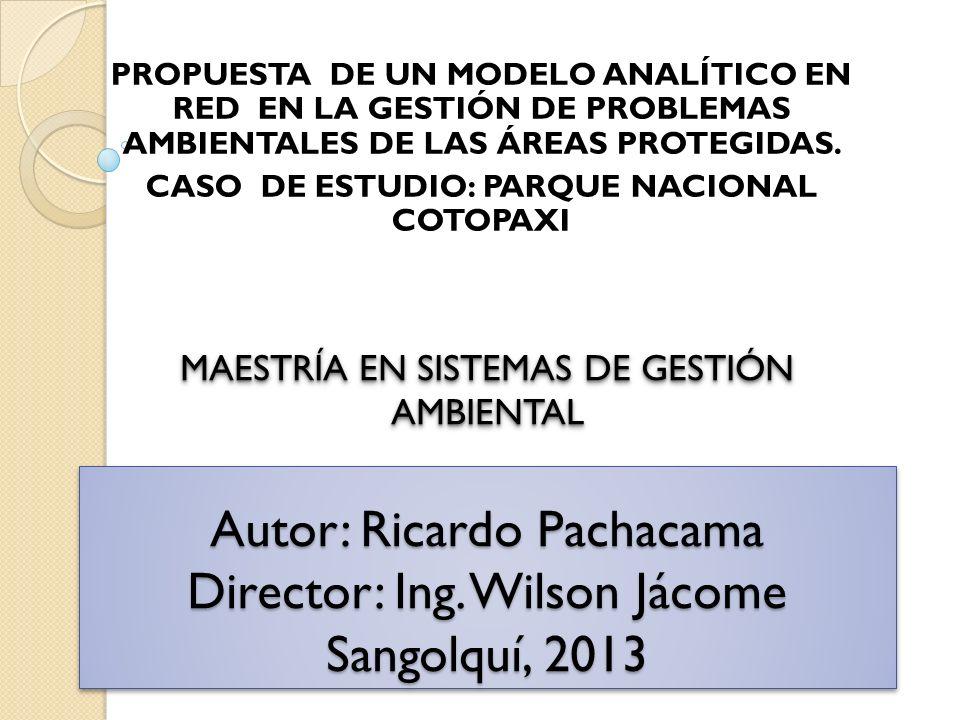 CASO DE ESTUDIO: PARQUE NACIONAL COTOPAXI