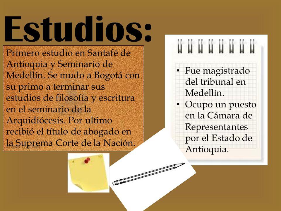 Estudios: