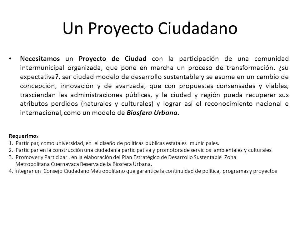 Un Proyecto Ciudadano