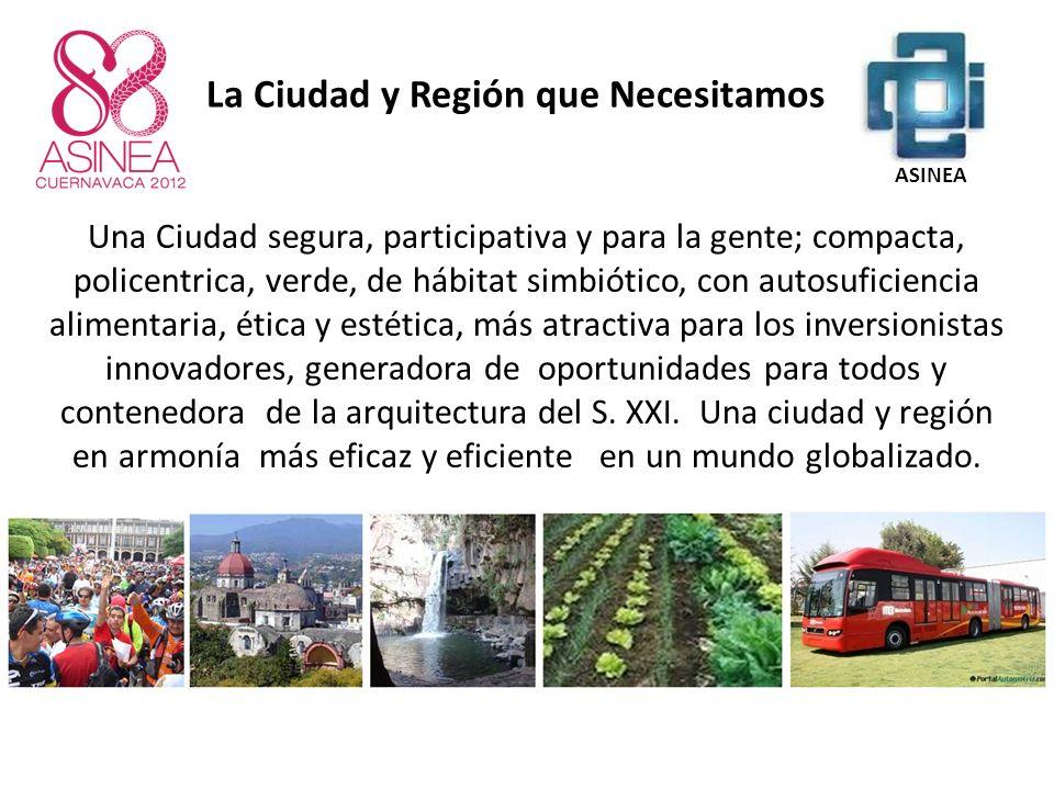 La Ciudad y Región que Necesitamos