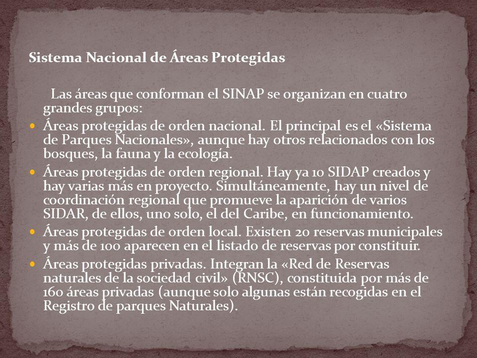 Sistema Nacional de Áreas Protegidas