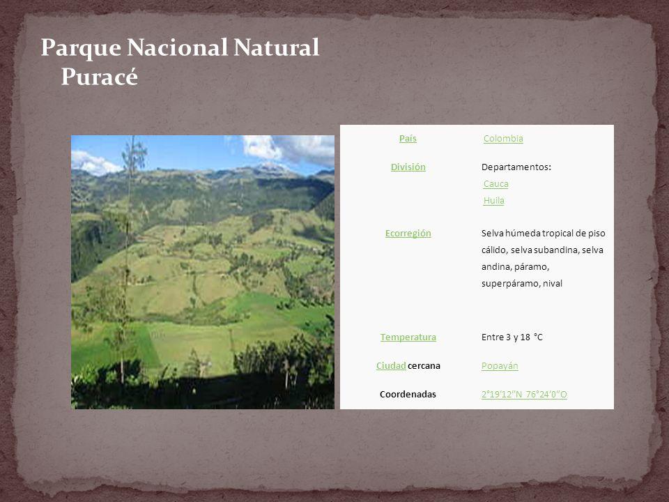 Parque Nacional Natural Puracé
