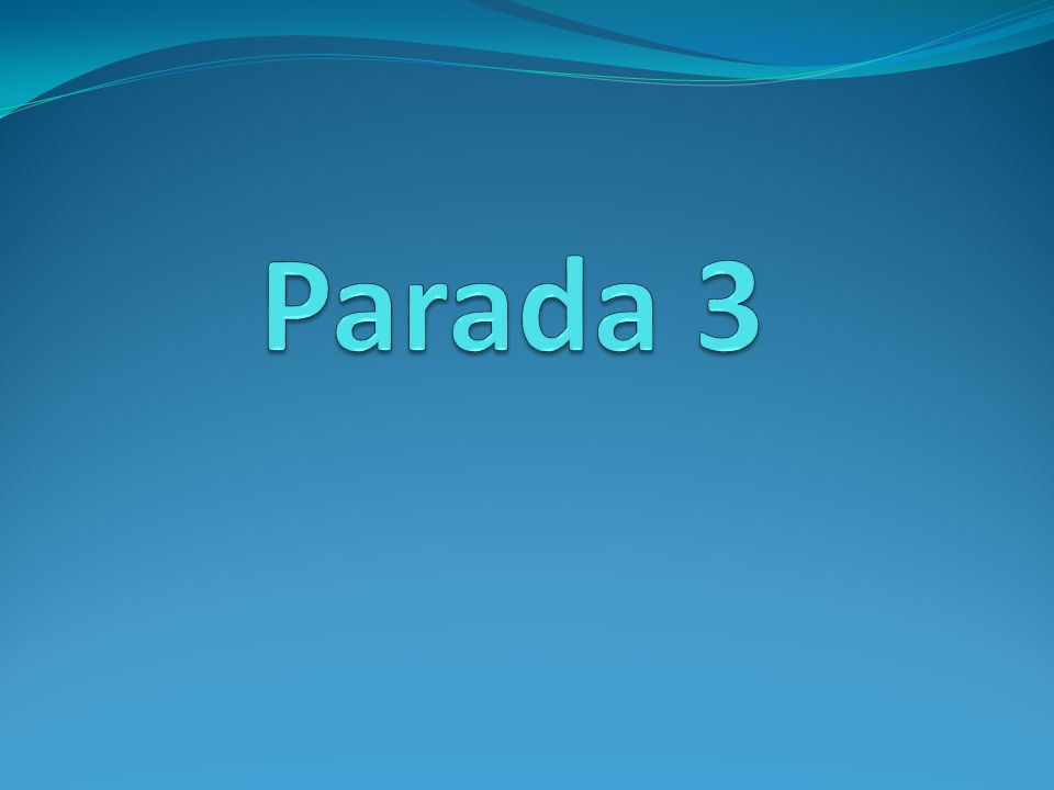 Parada 3