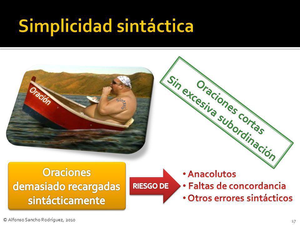 Simplicidad sintáctica