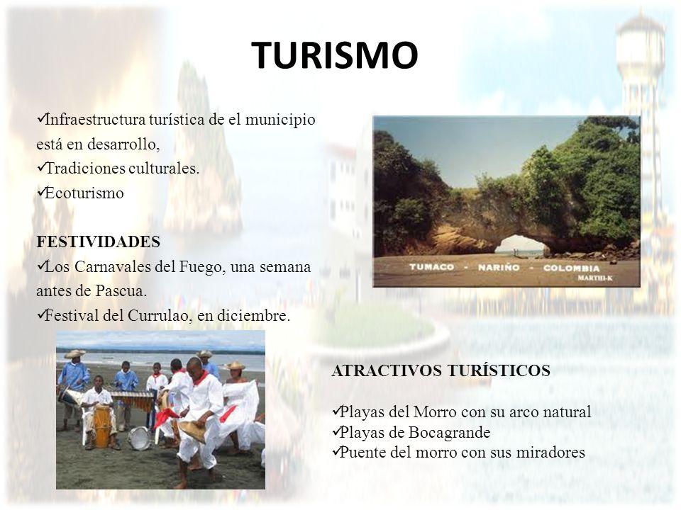 TURISMO Infraestructura turística de el municipio está en desarrollo,