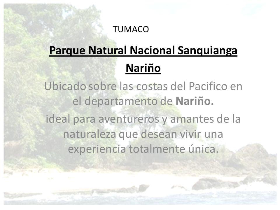 Parque Natural Nacional Sanquianga