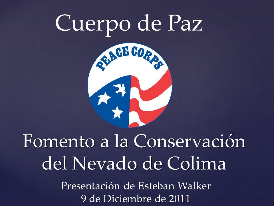 Fomento a la Conservación del Nevado de Colima