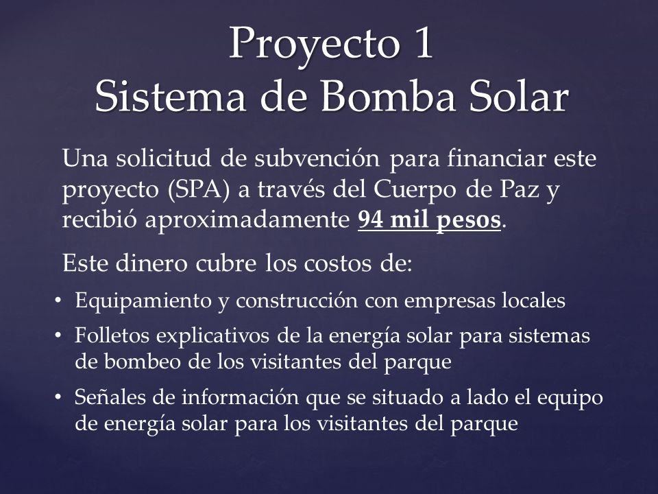 Proyecto 1 Sistema de Bomba Solar